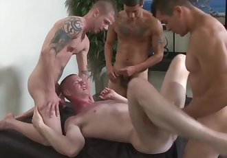 4 hot guys- 3 tops, 1 bottom,..