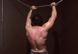 punished boy flogging