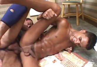 Young boy takes huge cock..